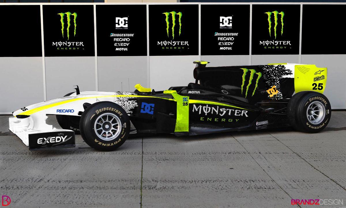 Monster Energy F1 Car Monster Energy Car Monster
