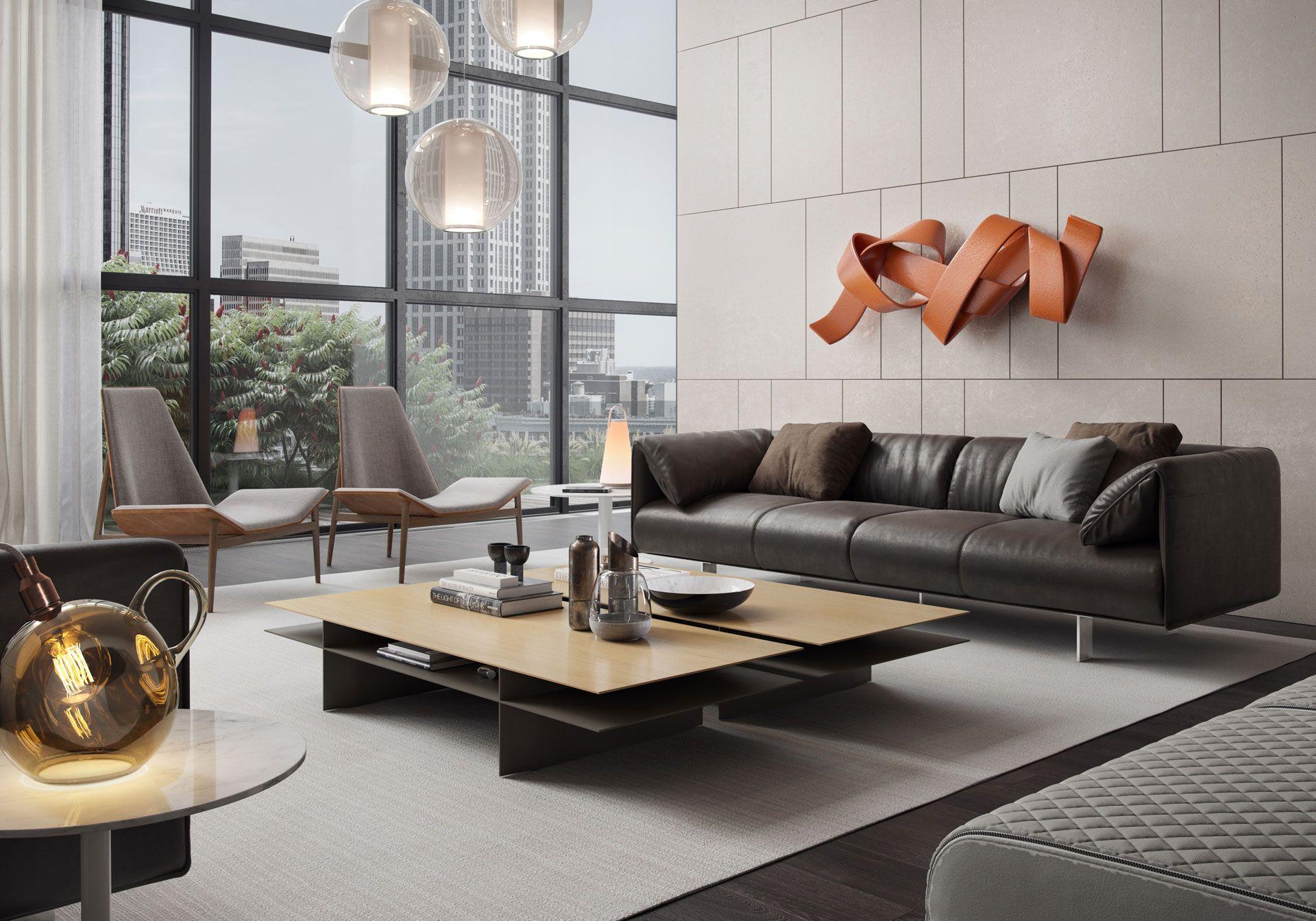 Kensington Coffee Table Modern Furniture Living Room Modern Living Room Furniture Sets Modern Living Room Set