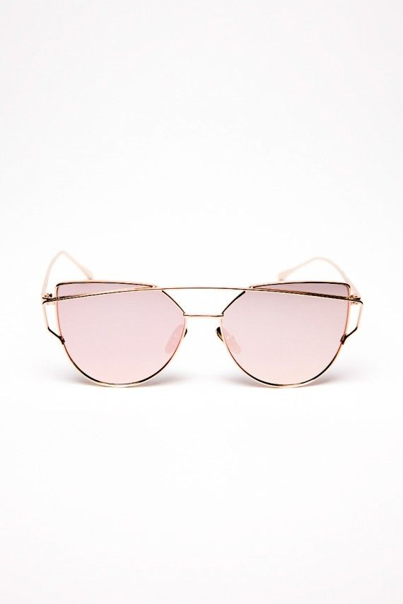 Lunettes double barre rose   Glasses   Pinterest   Glass and Fashion f54594e2a918
