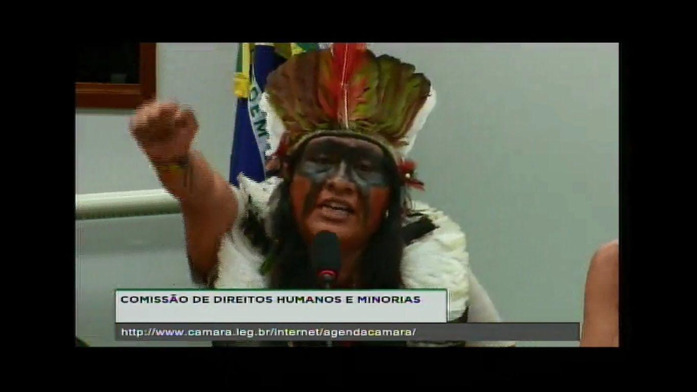 Liderança Guarani Kaiowá denuncia ameaça de deputado federal na Câmara d...
