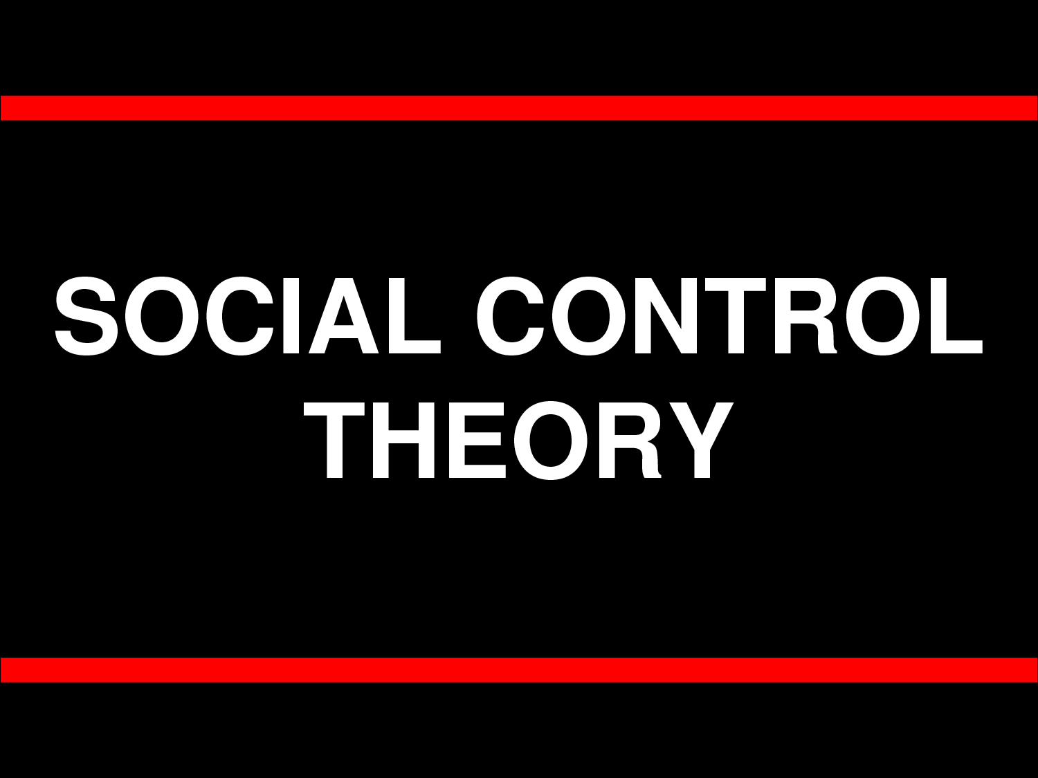criminology social control theory explained e roll call  criminology social control theory explained e roll call magazine
