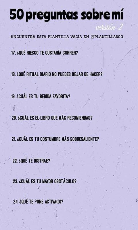 Pin De Kamila Stephania En C A D E N A S Preguntas Divertidas Preguntas Para Conocer A Alguien Juego De Preguntas