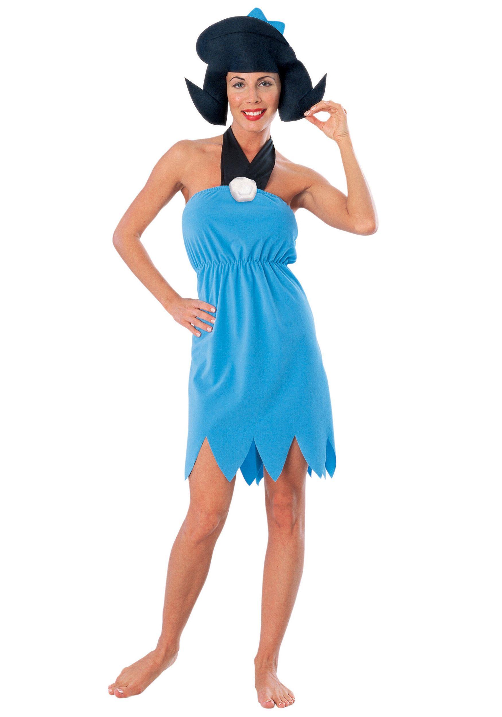 Betty Rubble The Flintstones Ladies Fancy Dress Costume
