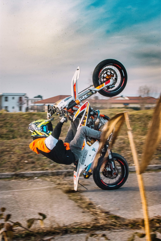 12 O Clock Cool Dirt Bikes Supermoto Motorcycle