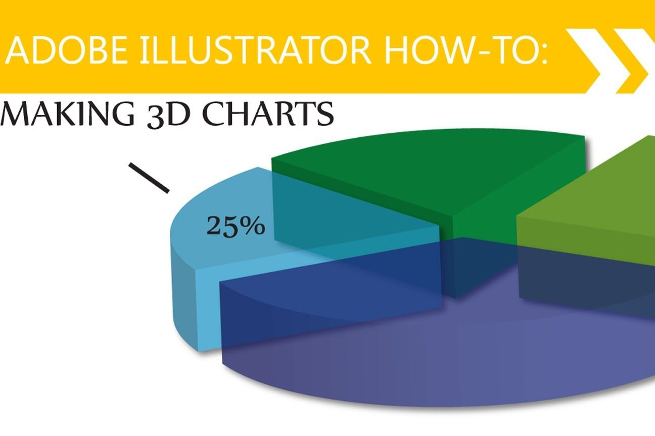 Illustrator tutorial 3d pie charts the digital world in this illustrator tutorial i show how to use effect to create pie charts this is an older tutorial check out my new ones and then learn more illus nvjuhfo Images
