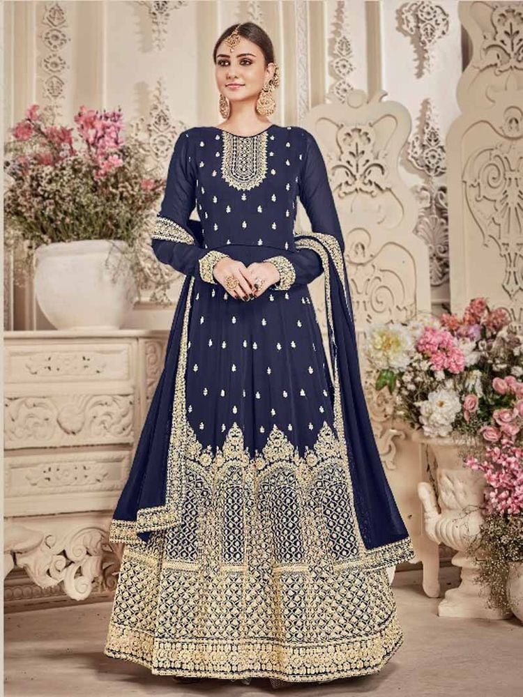 f741403e775  Designer  Indian  Traditional  Attractive  women  Glamorous  Party wear   Anarkali  Dress  Shoppingover  Salwarkameez