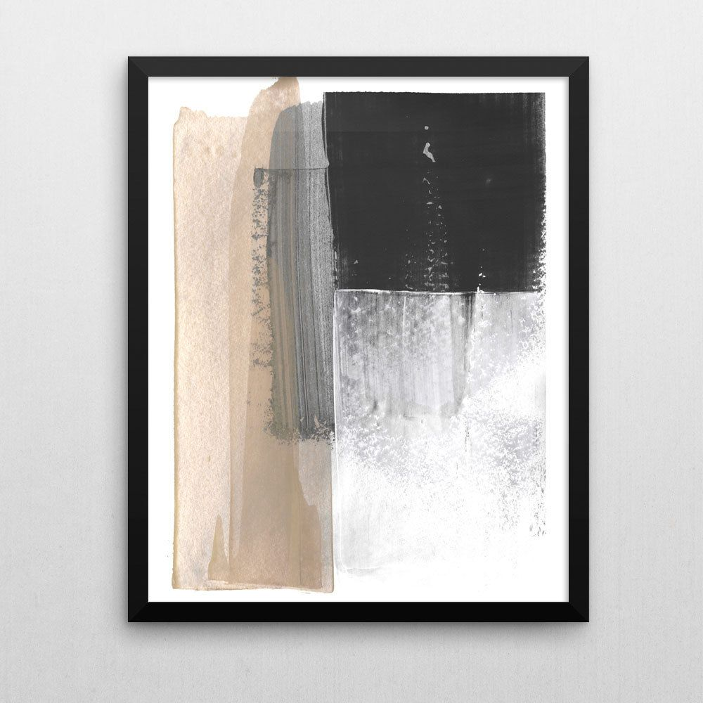 Neutral Wall Art abstract print, modern art giclee print, neutral home decor