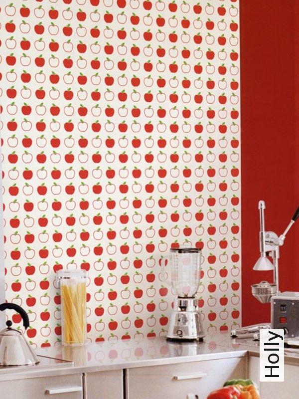 Tapete Holly Wohnen - Küche\/Essen Pinterest - tapete k che abwaschbar