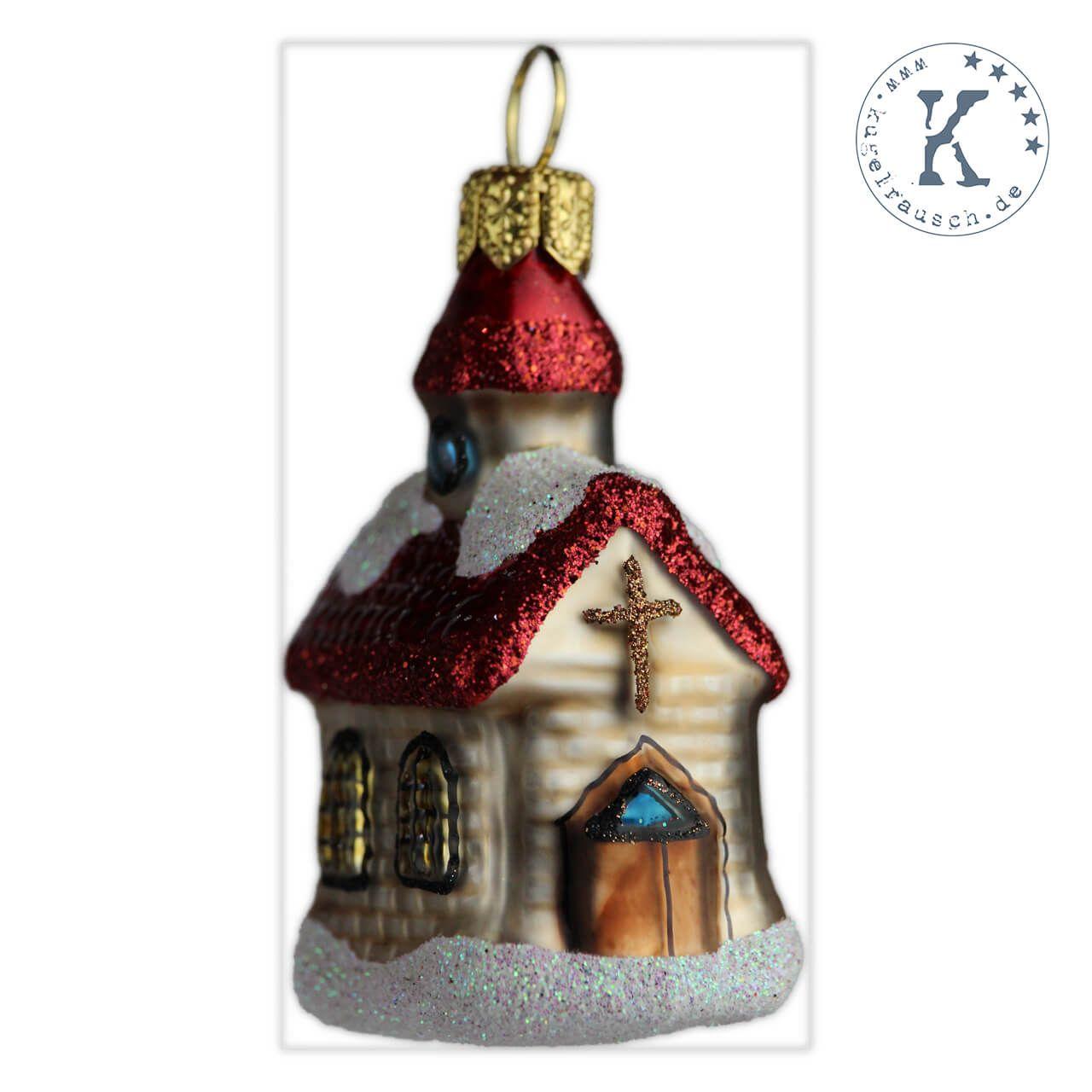 Christbaumkugeln Feuerwehr.Christbaumkugel Kirche Mini Weihnachtskugeln Christbaumkugeln