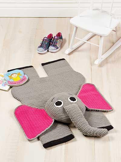 Elefant Häkeln Häkeln Häkeln Ideen Und Teppich Häkeln
