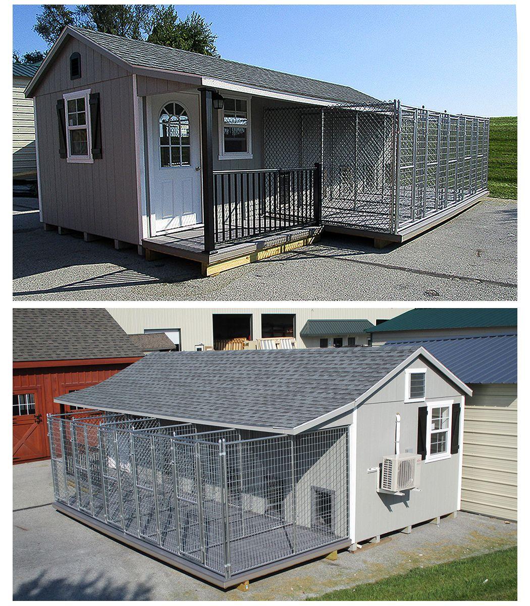 Take A Look Inside This Prefab/modular Dog Kennel!