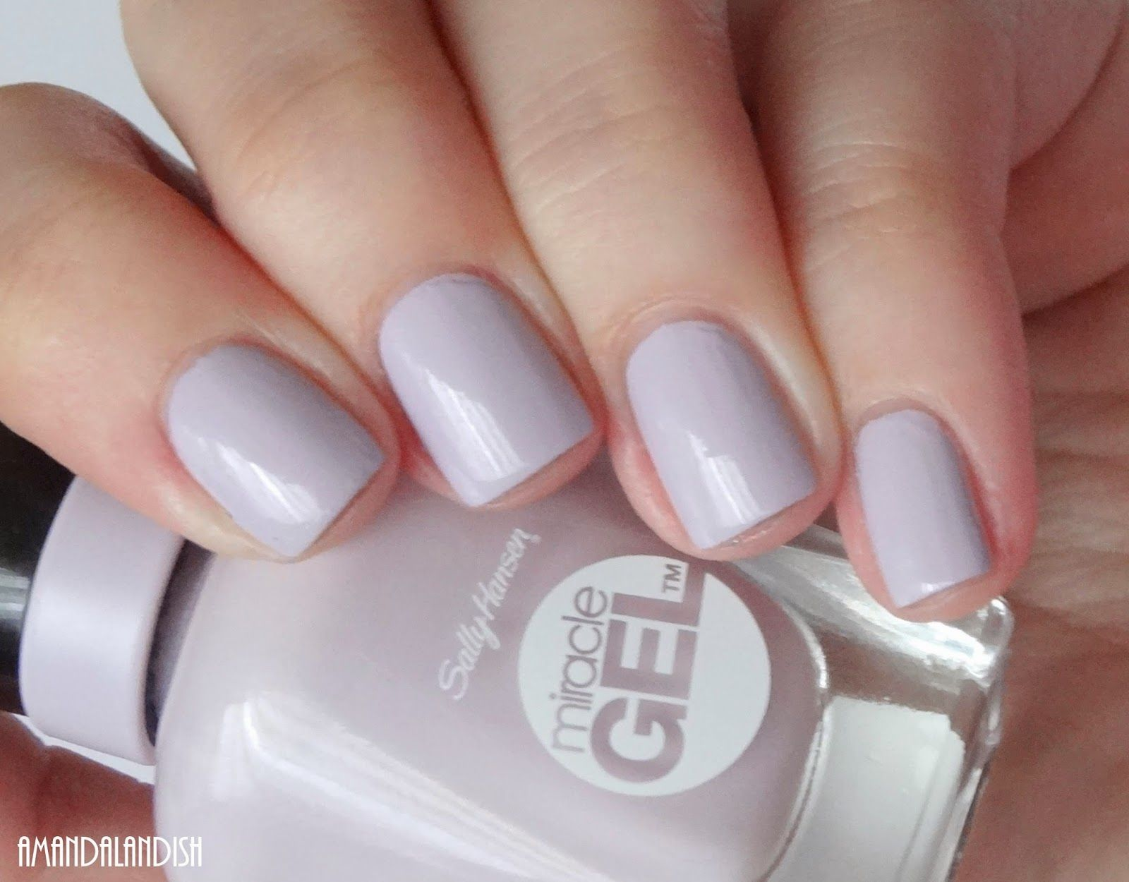 amandalandish: sally hansen miracle gel swatches and review | the