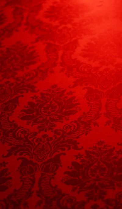 Beautiful Red Patterned Wallpaper