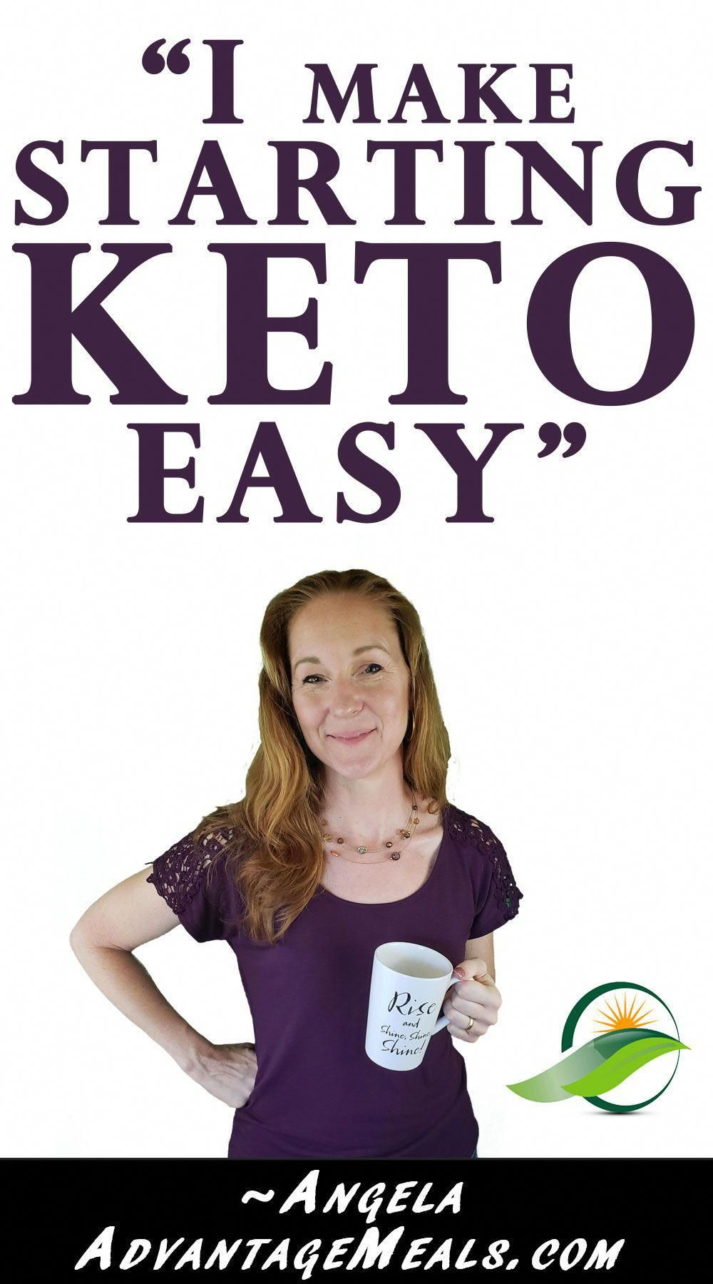 Starting Keto A Keto Beginner Do you find the Keto Diet complex and confusing I make keto easy Check out my No Cook Keto Meal Plan and No Cook Keto Cookbook Angela of Adv...