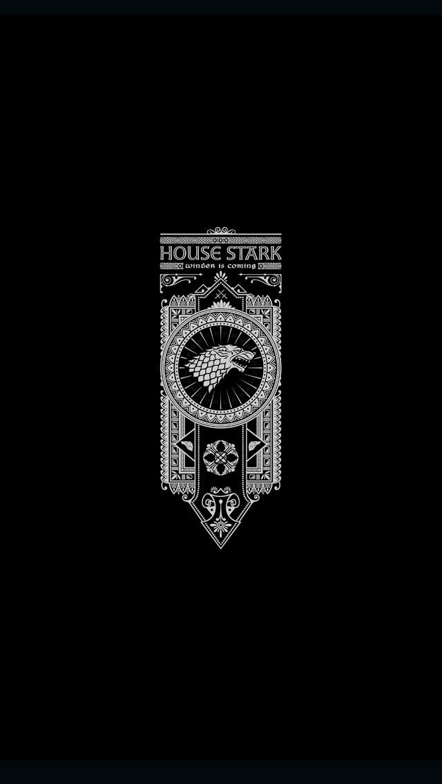 House Stark IPhoneWallpaper