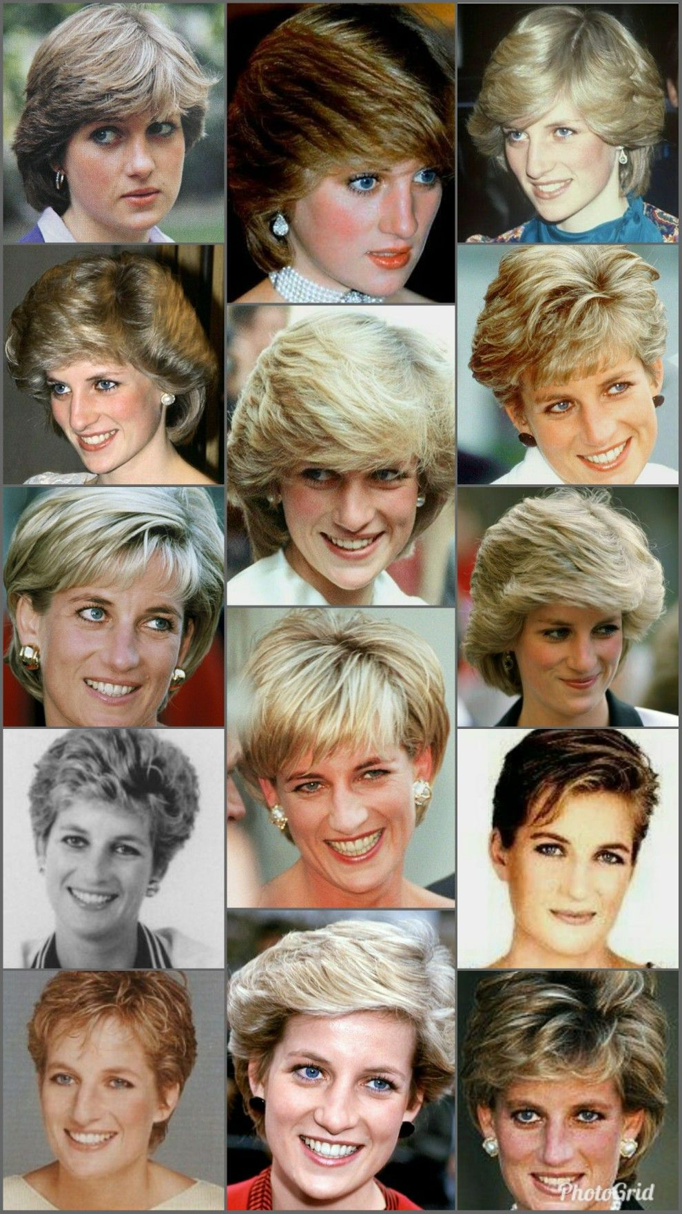 Beautiful Princess Diana S Haircut Princess Diana Hair Diana Haircut Princess Diana Jewelry