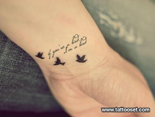 If You Re A Bird I M A Bird The Notebook Tattoos Black Bird Tattoo Love Tattoos