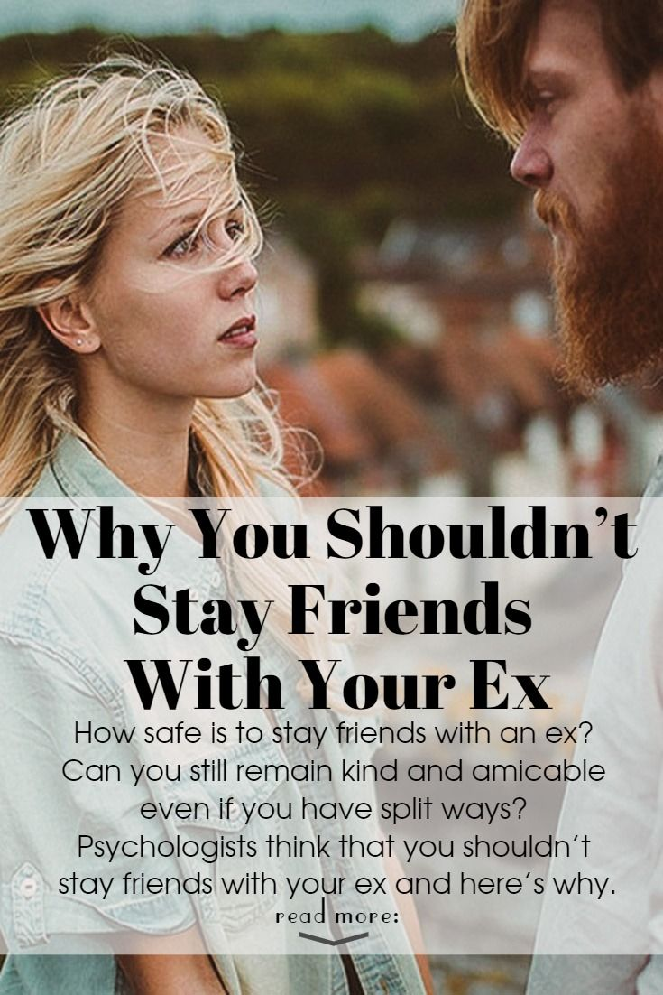 foto What It Means When You Stay Friends with Your Exes