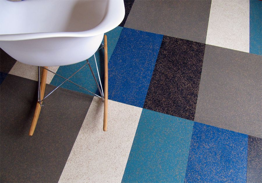 Cork Rubber Flooring. Zandur. Made From Over 65% Recycled