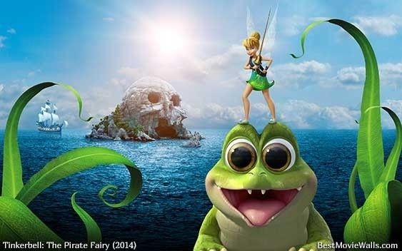 The Pirate Fairy Wallpaper Hd Featuring Character Tinker Bell