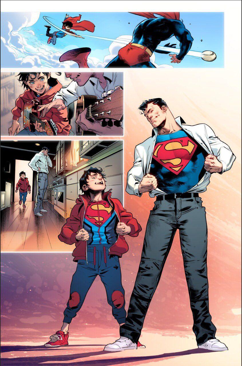Jorge Jiménez on Twitter   Superman comic, Dc comics superheroes, Comics