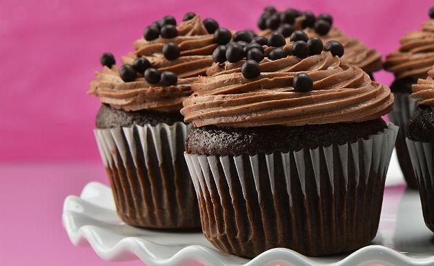 Receita de cupcake de chocolate - Vix