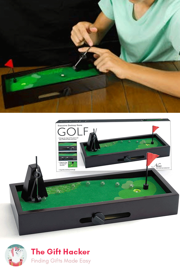 Desktop Golf Set #secretsantaideasforwork