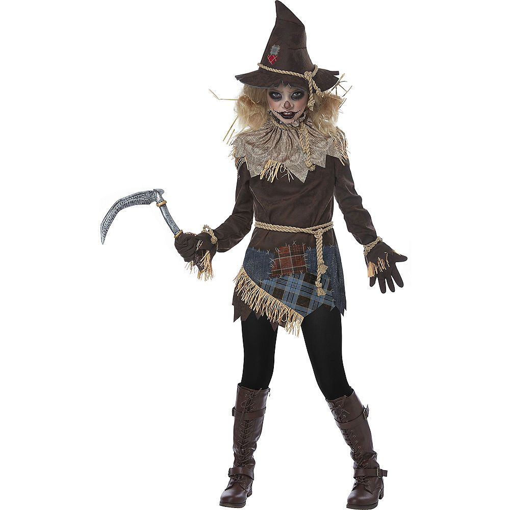 Halloween Costumes Ideas 2020 Scary Girls Creepy Scarecrow Costume | costumes | Scary halloween