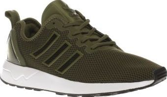 09a52870e ... italy adidas khaki zx flux adv mens trainers adidas add some futuristic  vibes to an archival