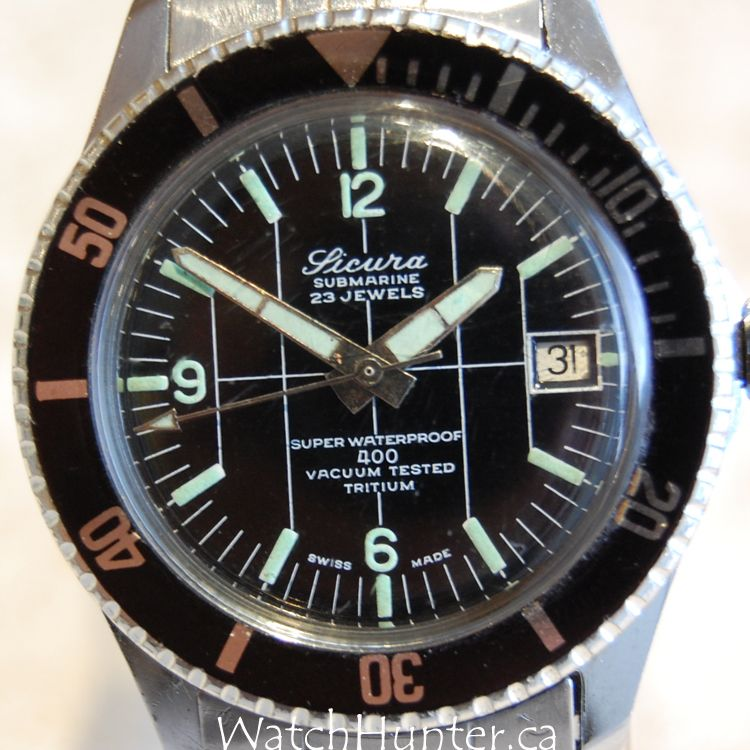 Vintage Diver from SICURA — the Submarine 400...