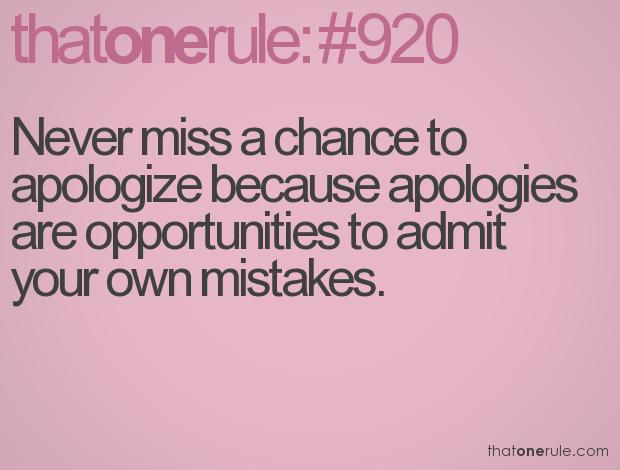 apologize.