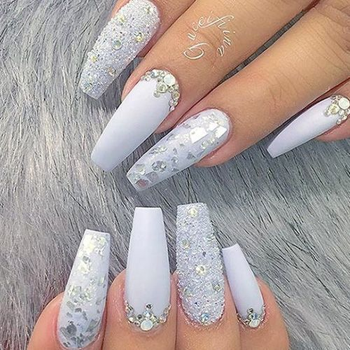 Best Winter Nails For 2017 67 Trending Winter Nail Designs Best Nail Art Fall Acrylic Nails Bride Nails Wedding Nails Design