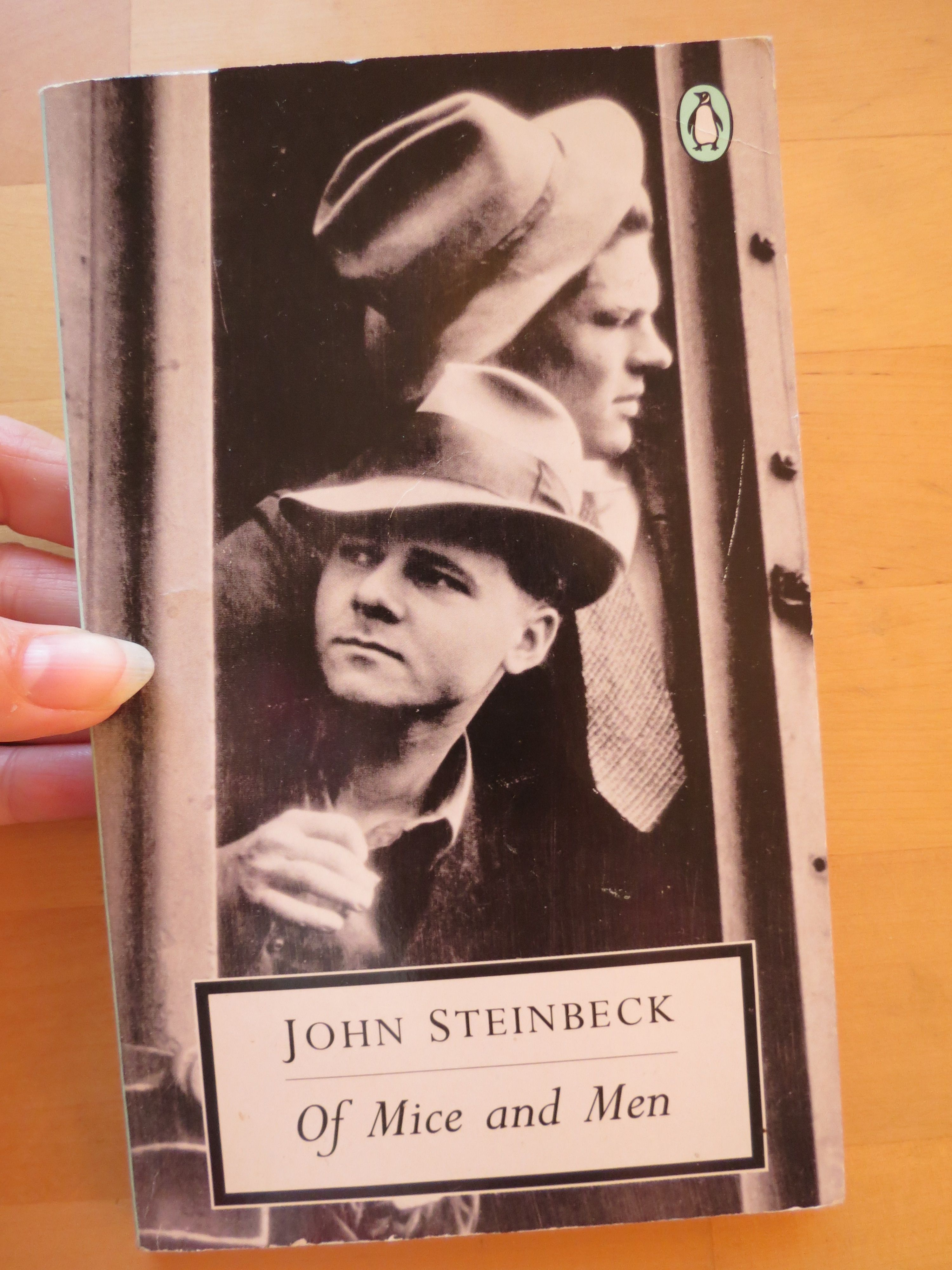 """john steinbeck of mice and men Of mice and men represents an experiment in form, which steinbeck described as """"a kind of playable novel, written in a novel form but so scened and set that it can be played as it stands"""" a rarity in american letters, it achieved remarkable success as a novel, a broadway play, and three acclaimed films."""