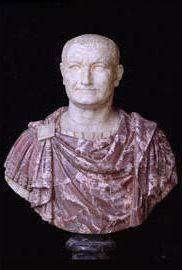Vespasian, Roman Emperor, reigned 69-79,  Musei Capitolini, Roma   Albani Collection