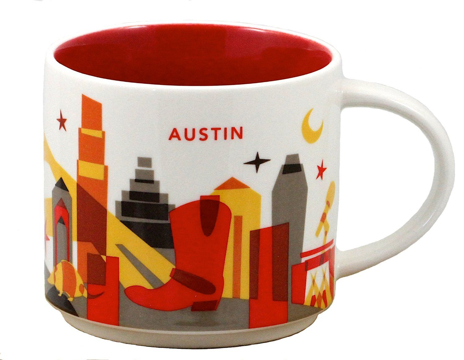 Starbucks Austin Coffee Mug You Are Here