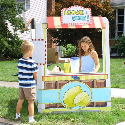 Ice Cream Castles and Lemonade