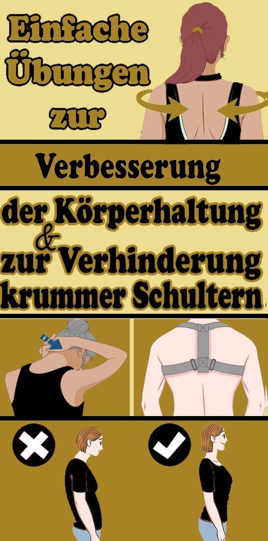 Photo of Einfache Übungen zur Verbesserung der Körperhaltung und zur Verhinderung von krummen Schultern