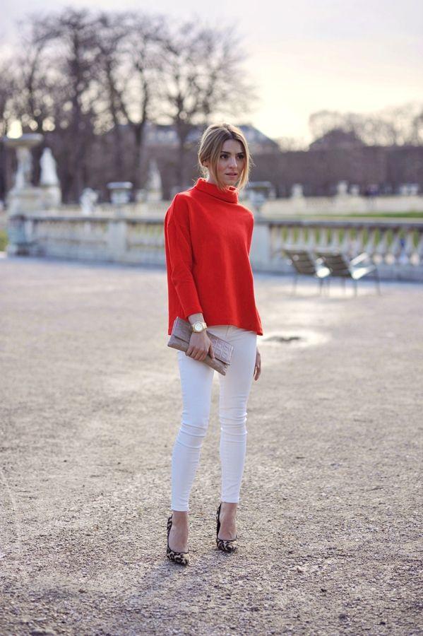 7a55f71fa91ef1 trousers   spodnie – Mango sweater   sweter – COS shoes   szpilki – Topshop  bag   torebka – Małgorzata Bartkowiak