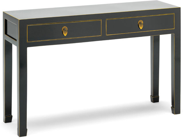 Large Clic Chinese Console Black Table Image 2