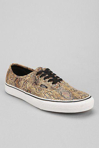 131829a5f85802 Vans Authentic Snake Men s Sneaker