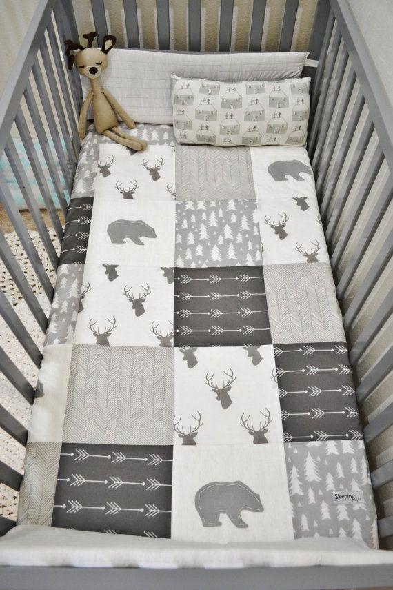 Woodland Blanket/Set | Baby patchwork quilt, Patchwork and Blanket : patchwork quilt baby bedding - Adamdwight.com