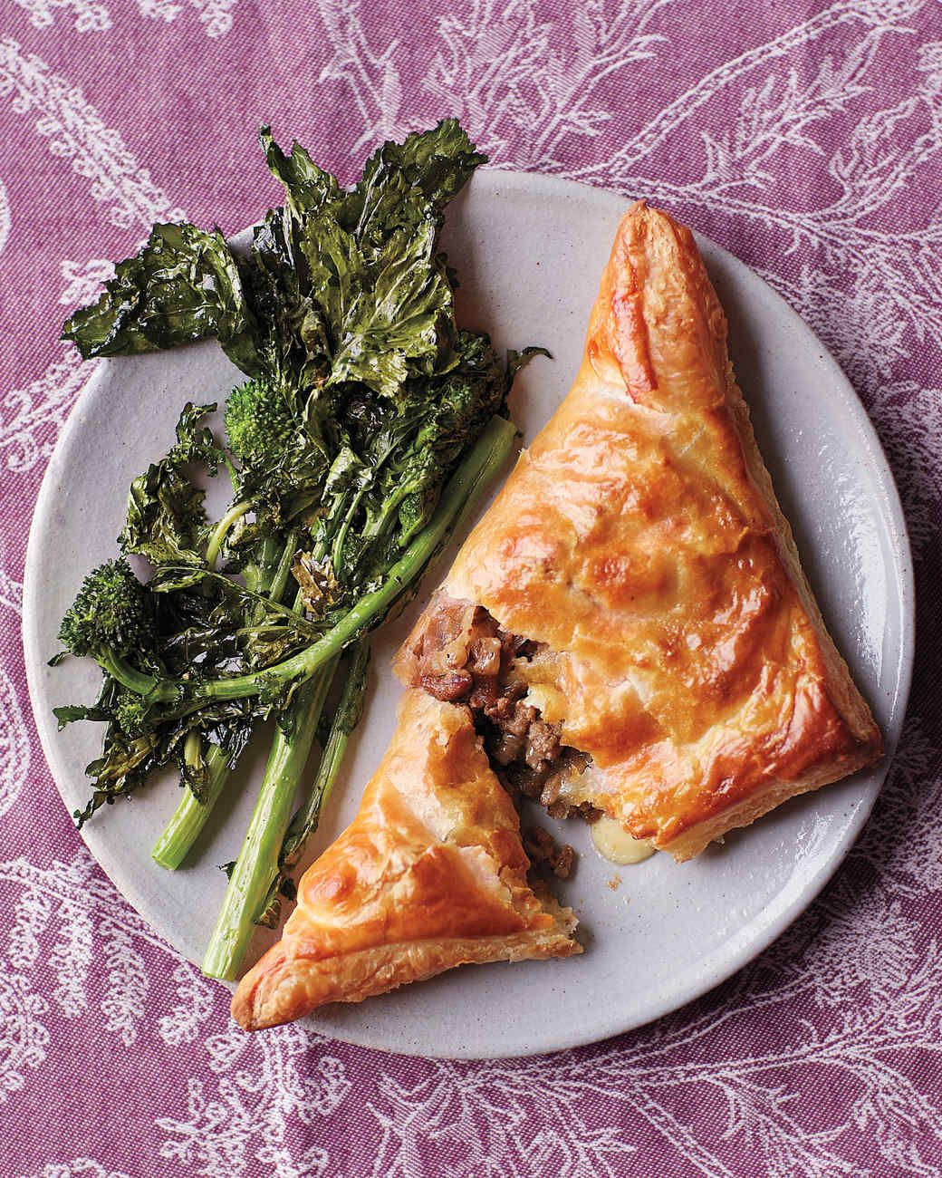 Ground Beef Phyllo Recipe: Beef And Cheddar Hand Pies