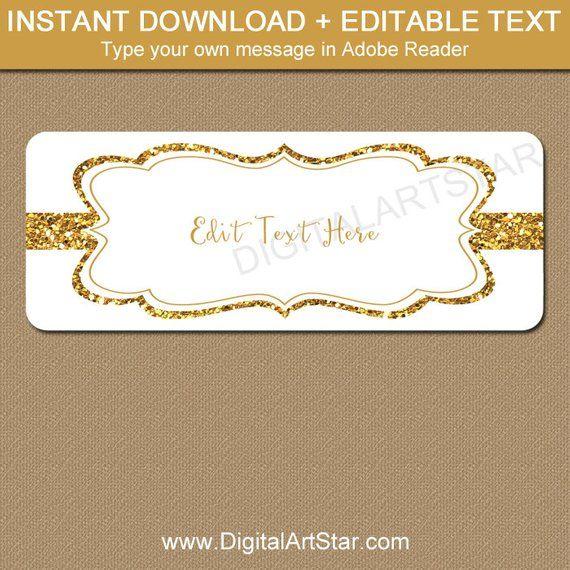 gold address labels fancy address labels gold wedding labels