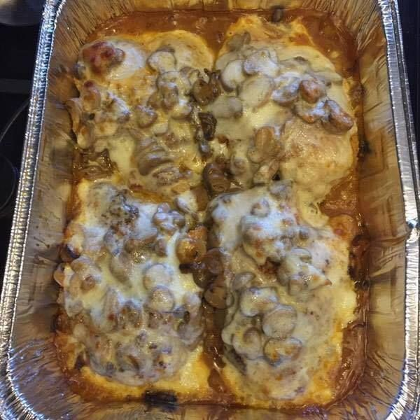 Pin By Amy Kinnett On Food Pinterest Smothered Chicken Sliced