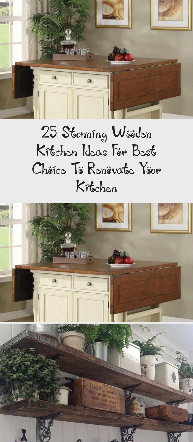 25 Stunning Wooden Kitchen Ideas For Best Choice To Renovate Your Kitchen Kitchen Room Design Interior Design Kitchen Wooden Shelves Kitchen