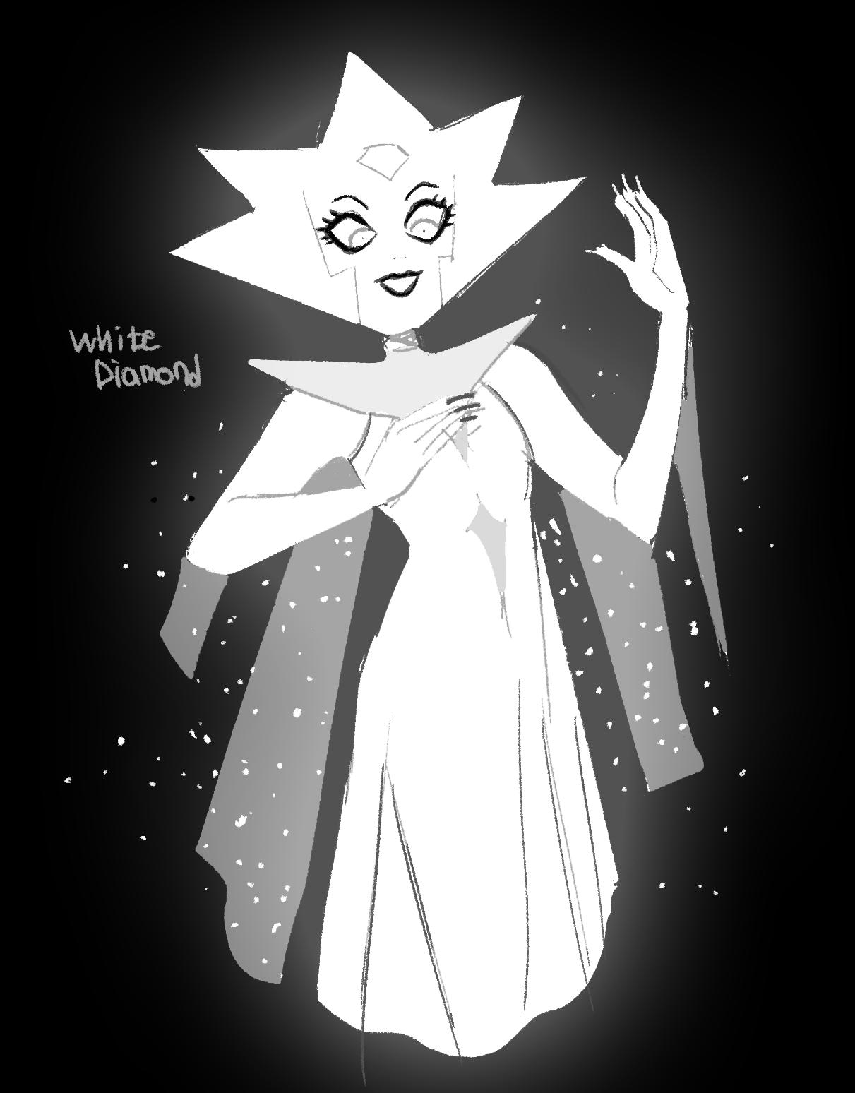 차바🌺 on in 2020 (With images) White diamond, Fan art, Artist