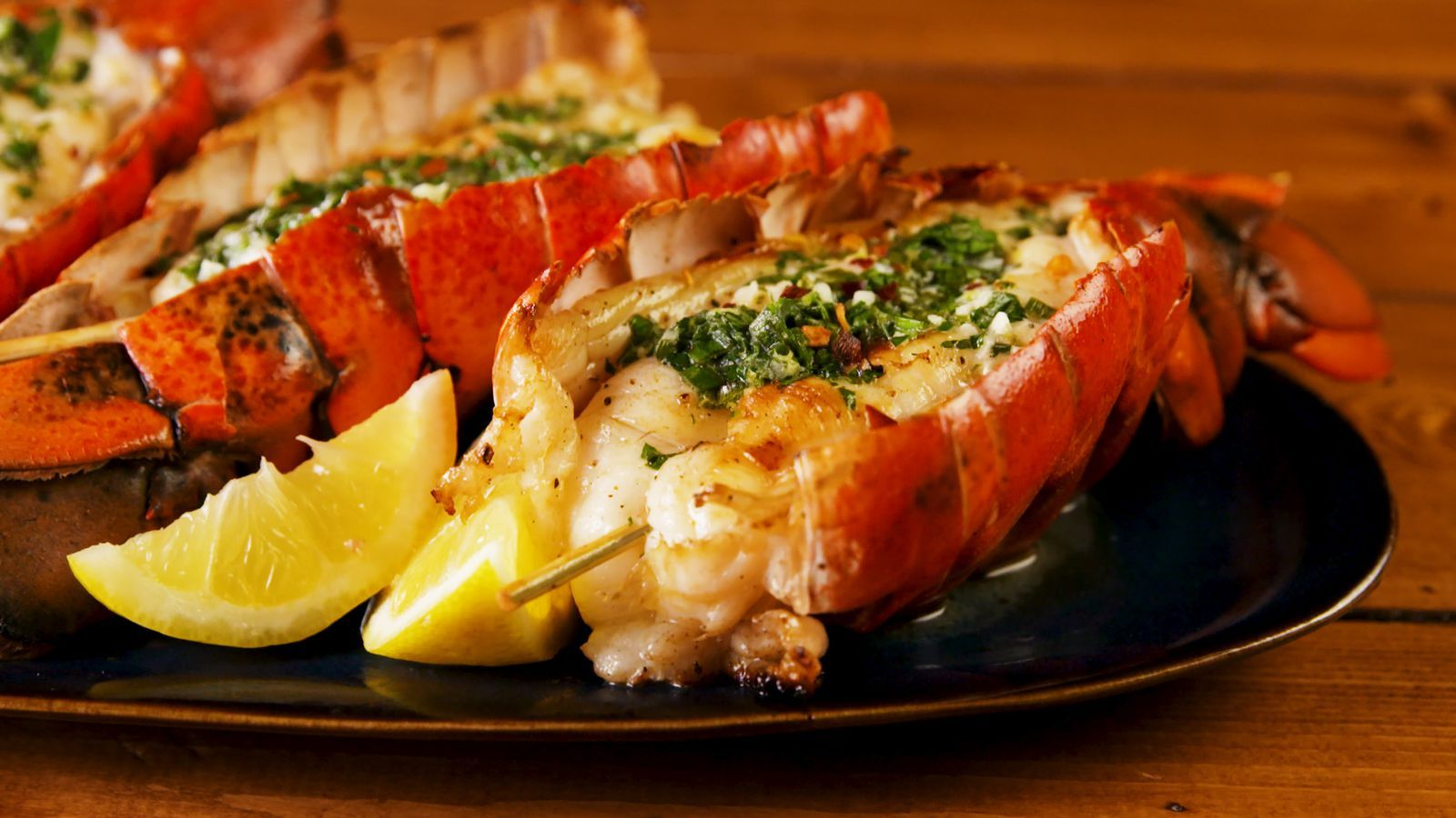 Herb Butter–Grilled Lobster Tail Tastes Like It Came From ...