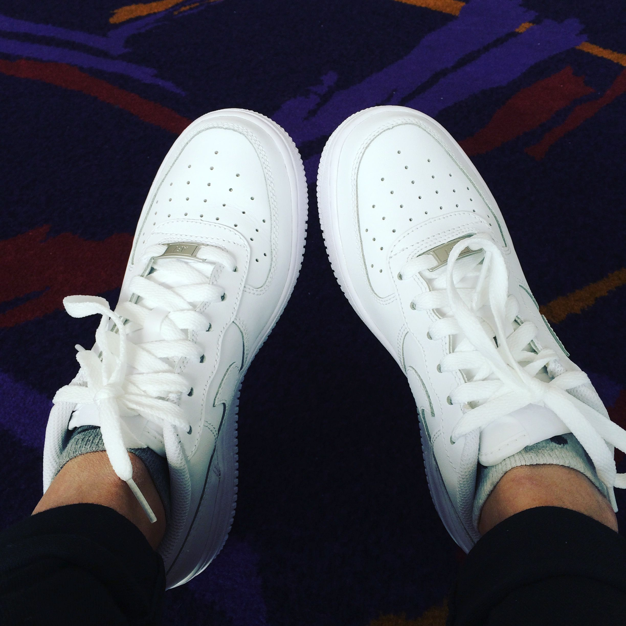 trainers, shoes, laces, white, Nike