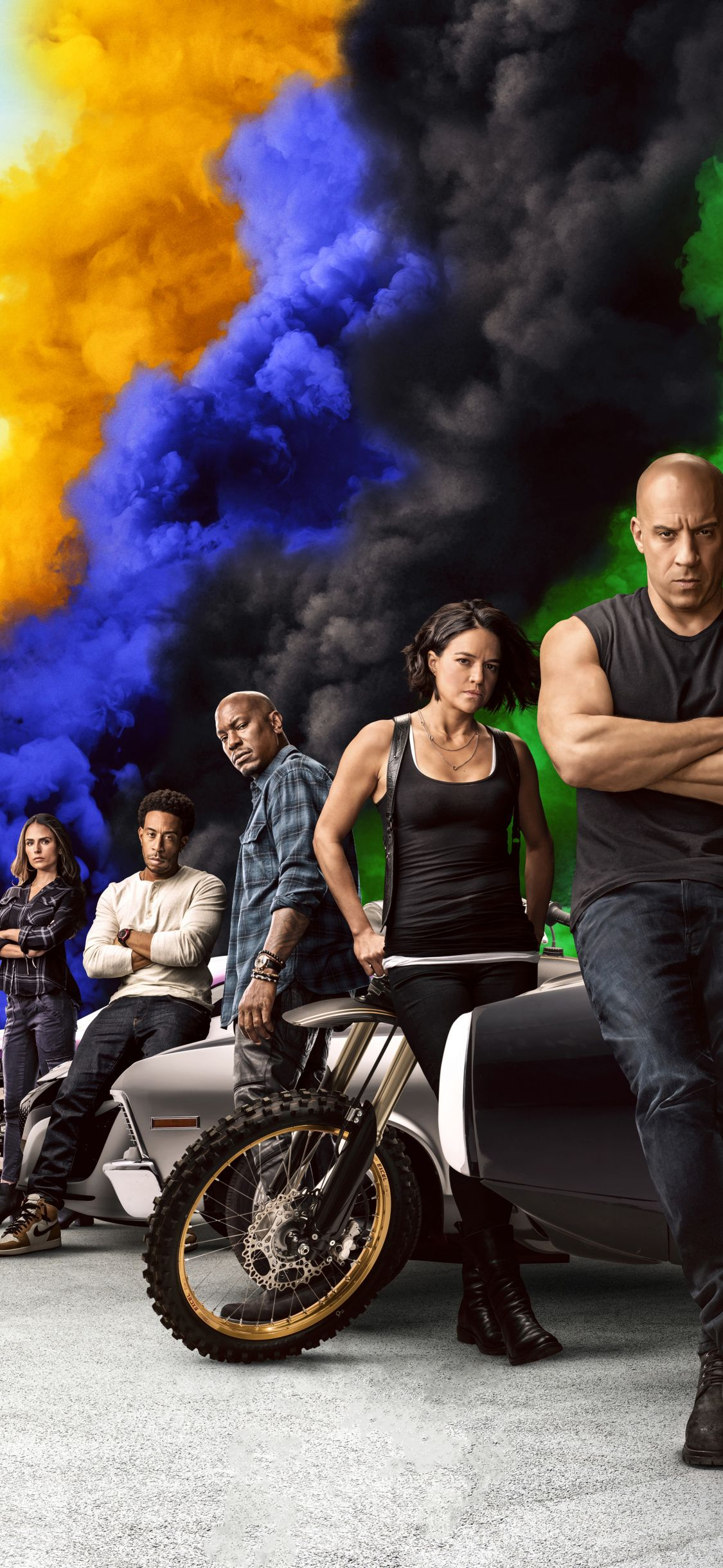 1125x2436 Movie 2020, cast, Fast & Furious 9 wallpaper in