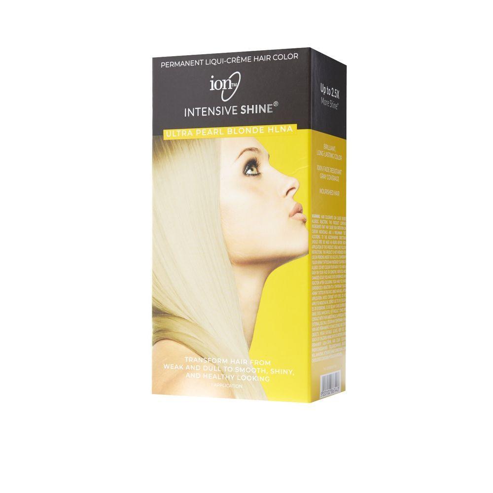 Intensive Shine Hair Color Kit Light Brown 5n Hair Color Pearl Blonde Ion Hair Colors